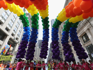 One Month After Taiwan Same-Sex Marriage Ruling, Group Celebrates with NYC Pride Float