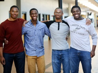Yale-Bound Quadruplets Leave an Empty Nest as They Depart