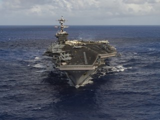 First Read's Morning Clips: About that U.S. Aircraft Carrier...