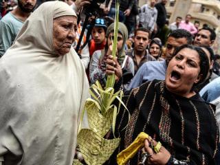 Egypt Palm Sunday Church Blasts Kill at Least 38