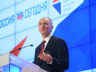 First Read's Morning Clips: Carter Page Is Back in the News
