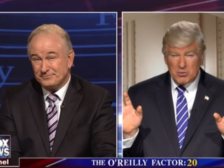 'SNL' Returns With Alec Baldwin as Both Trump and O'Reilly