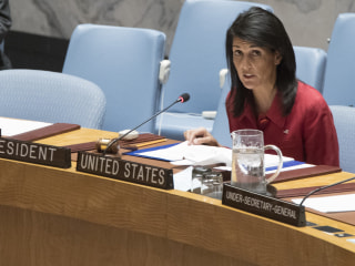 Amb. Nikki Haley: We Don't See Peace in Syria With Assad