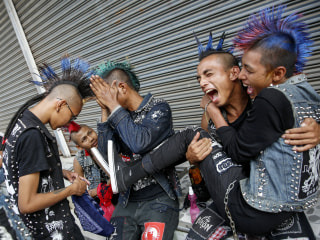 Myanmar Punks Celebrate Eve of Thingyan Water Festival