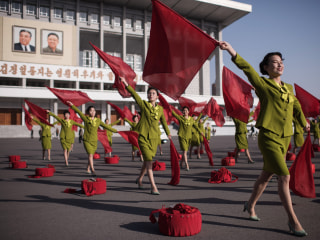 Pyongyang Postcards: North Korea Prepares for Holiday as Tensions Escalate