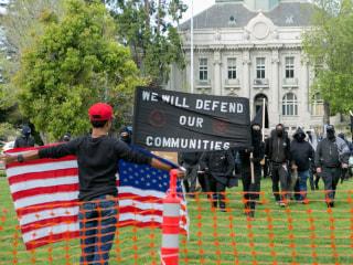 Tax Day Turmoil: Protesters Gather, Clash in Berkeley