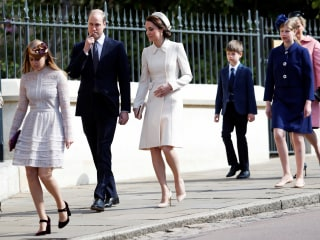 Duchess of Cambridge Reminds Us of Jackie Kennedy With her Easter Outfit
