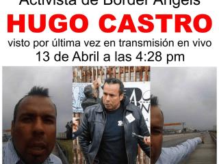 Hugo Castro, Missing American Activist, Found Alive in Mexico