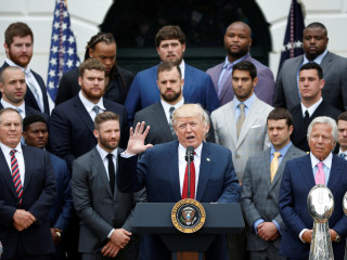 Tom Brady Pulls Out of Patriots' White House Ceremony, Trump Stays Mum on QB