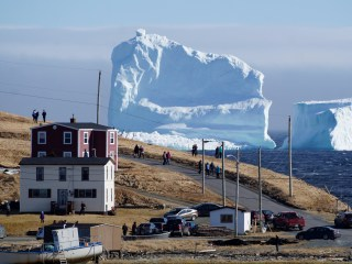 Ice to Meet You: Newfoundland Sees First 'Berg of Season