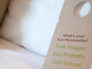 Could Your Messy Hotel Room Save the Planet?