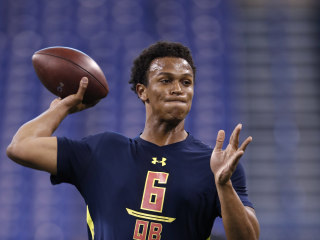 NFL Prospect Stands By Quote Comparing Himself to Brady/Newton