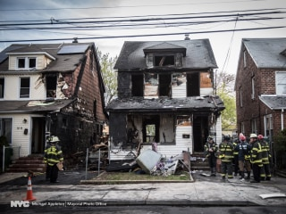 'Very Painful Day': Three Kids Among Five Dead in NYC House Fire