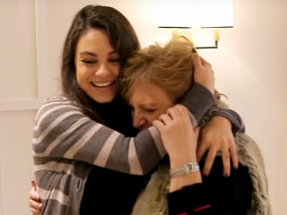 Mila Kunis surprised her parents with a home makeover and their reaction is the best
