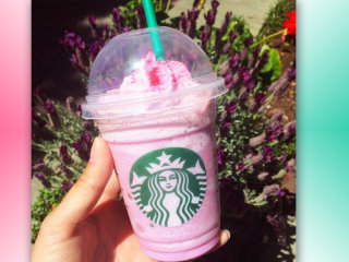 Seriously, Starbucks?! Now there's a Pink Pegasus Frappuccino