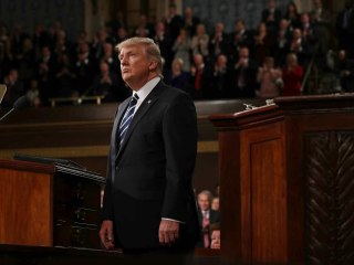Sound and Fury, But Not Much Action in Trump's Noisy First 100 Days