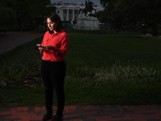 Ali Vitali: My 100 Days of Covering Trump