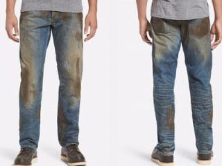 For $425, You Can Have Your Own Designer Pair of Mud-Covered Jeans