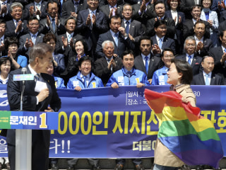 South Korean Presidential Hopeful Accused of Anti-Gay Comments