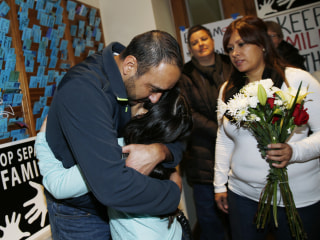 Mexican Who Sought Refuge in U.S. Church Detained, Activists Say