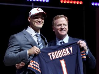 Draft Shocker: Bears Trade Up to No. 2, Take QB Mitch Trubisky