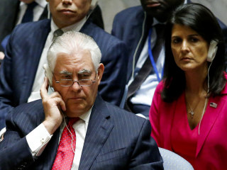 Sec. Tillerson to UN Security Council: 'Act Before North Korea Does'