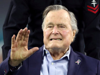 George H.W. Bush Discharged From Hospital After Pneumonia Treatment
