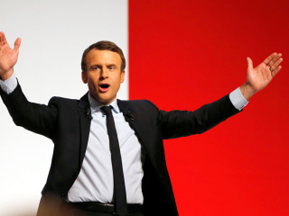 Emmanuel Macron: The 'Knight' Whose Job It Is to Slay France's Far-Right Party