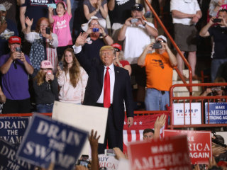 Watch President Trump Hold Rally in Pennsylvania on 100th Day in Office