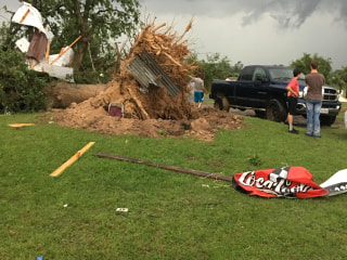 Eight Dead, Dozens Hurt After Tornadoes Hit Texas, South