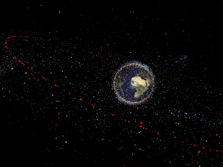 Scientists Have Some Pretty Wild Ideas for Preventing Space Junk Armageddon