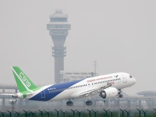 China's C919 Passenger Jet Makes Maiden Flight in Challenge to Boeing, Airbus