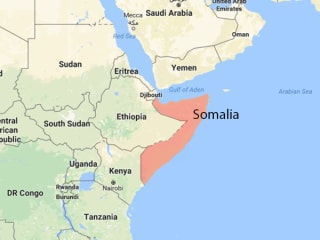 One U.S. soldier killed, four wounded in Somalia attack