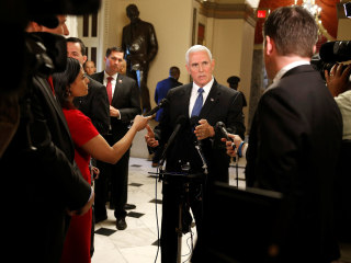 First Read's Morning Clips: Was Pence Kept in the Dark?
