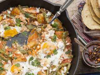 Make Mom This Great Mexican-Inspired Breakfast Skillet for Mother's Day