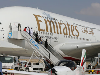 Emirates Airlines Reports 82% Plunge in Profits Amid U.S. Laptop Ban