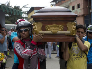 Venezuela's Escalating Violence Seen in Killing of Carolina Herrera's Nephew
