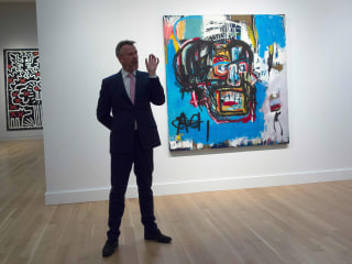 Untitled Jean-Michel Basquiat Painting Auctioned for $110 Million, a U.S. Record