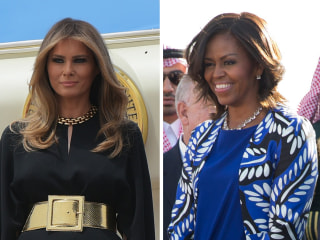 Melania, Ivanka Trump Forgo Headscarves in Saudi Arabia — Despite Past Trump Criticism