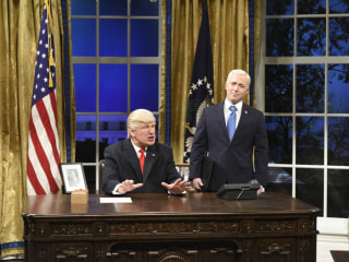 'SNL' Season Finale Pokes Fun at Tumult in the Trump White House