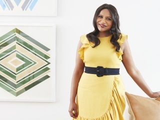 Take a tour of Mindy Kaling's bright New York City apartment