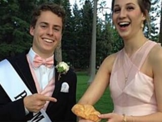 Forget corsages — teens are wearing croissants to prom now