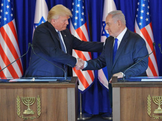Trump, Netanyahu Vow to Pursue Mideast Peace, Confront Iran