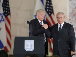 Trump: Israel and Palestine Are 'Ready For Peace'