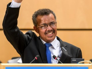 Ethiopian Wins Race to Head World Health Organization