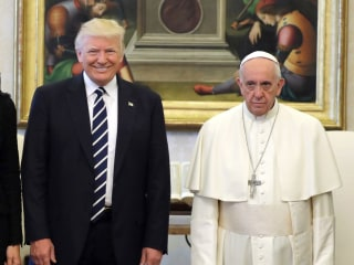 Trump to Pope Francis After Vatican Meeting: I 'Won't Forget What You Said'