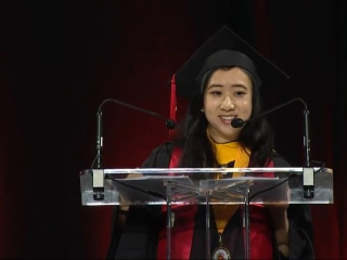 International Student Faces Criticism in China Over U.S. Commencement Speech