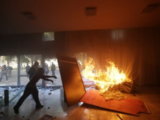 Brazil Protesters Demand President's Ouster