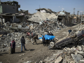 U.S. Airstrike Killed Over 100 Civilians in Mosul, Pentagon Says