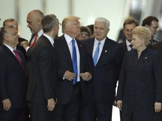 President Trump Throws His Weight Around at NATO Summit